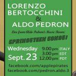 I live (e molto altro) consigliati da Aldo Pedron – Settembre 2020